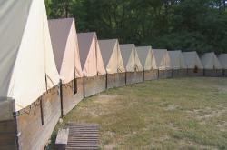 Stanový tábor v Rajnochovicích