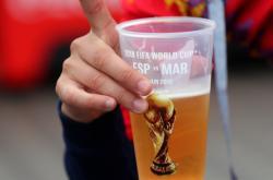 Snímek je z loňského mistrovství světa ve fotbale, které se konalo v Rusku