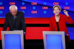 Bernie Sanders a Elizabeth Warrenová