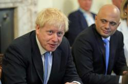 Boris Johnson a Sajid Javid