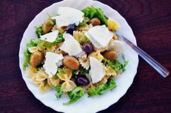 Středomořská strava, ilustrační foto