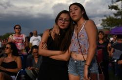 Pieta za oběti střelby v americkém El Pasu