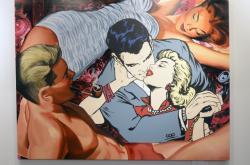 Obraz Pipe and Phone vydraží londýnský aukční dům Sotheby's