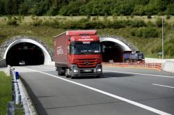 Klimkovický tunel na D1 před Ostravou
