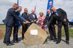 Zahájení stavby severního obchvatu Prostějova
