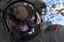 Nick Hague na ISS