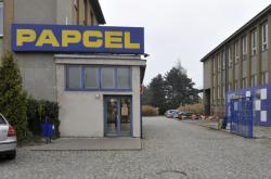 Firma Papcel na snímku z roku 2012