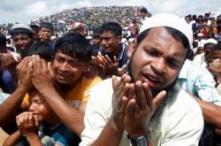 Rohingové si připomněli dva roky od vyhnání z Myanmaru
