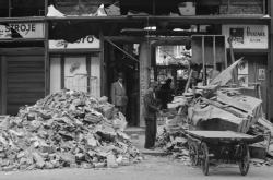 Následky bombardování Ostravy