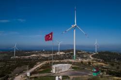 Větrná elektrána v Izmiru