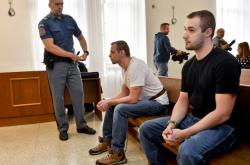 Obžalovaní David Šindler a Ivan Hollitzer