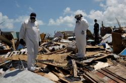 Následky hurikánu Dorian na Bahamách