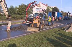 Opravy vodovodu zkomplikovaly dopravu na Gajdošově ulici