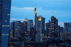 ECB sídlí ve Frankfurtu nad Mohanem