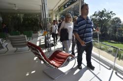 Vilu Tugendhat si osahali návštěvníci se zrakovým postižením