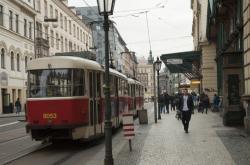 Tramvaj u Masarykova nádraží
