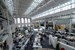 Zpravodajský sál vydavatelství Economia
