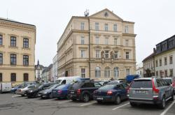 Parkoviště na náměstí Republiky v Olomouci