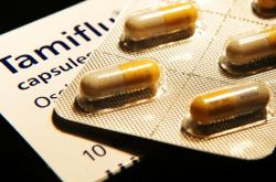Tablety léku Tamiflu