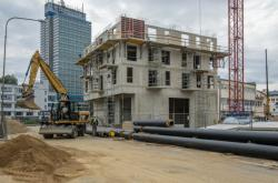 Stavba bytového domu v Liberci