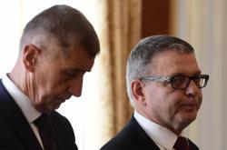 Andrej Babiš a Lubomír Zaorálek