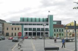 Vizualizace radničního komplexu v Přerově