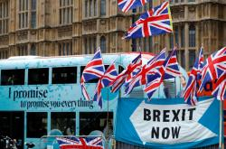 Demonstrace za brexit