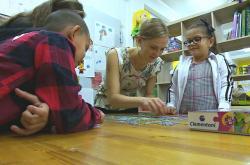 Jedním z hlavních cílů DROMu je vzdělávání dětí