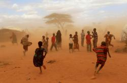 Uprchlický tábor v keňském Dadaabu