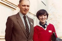 Ivan a Helena Medkovi v roce 1982