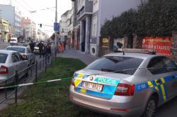 Policisté vyšetřují střelbu v Palackého ulici v Brně