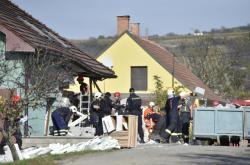 Exploze v Perné poškodila vinařství