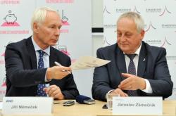 Jiří Němeček a Jaroslav Zámečník