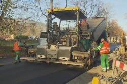 Oprava silnice na Bruntálsku