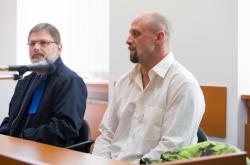 Lukáš Pulkert u soudu v Šumperku