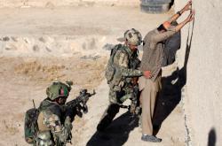 Afghánské zvláštní jednotky na cvičení