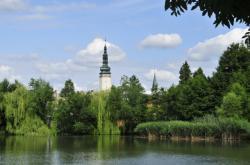 Radniční věž v Litovli na Olomoucku