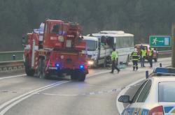 Nehoda autobusu u Nové Vsi