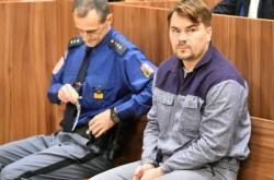 Marek Dalík u soudu, který rozhodl o jeho podmínečném propuštění