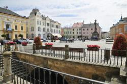 Náměstí Přemysla Otakara v Litovli