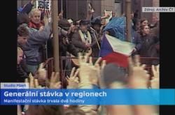 Stávka v Plzni