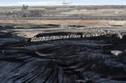 Protest proti těžbě uhlí v Jänschwalde