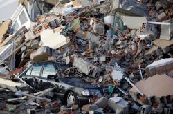 Následky zemětřesení v Albánii