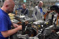 Výroba Volkswagenu v Německu