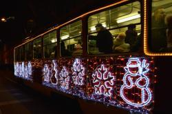 Vánoční tramvaj