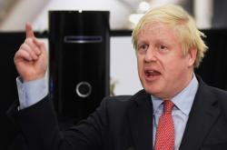 Boris Johnson po svém zvolení