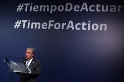 Generální tajemník OSN Antonio Guterres hovoří na konferenci U.N. Climate Change Conference (COP25) v Madridu