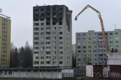 Demolice horních pater prešovského domu