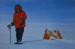 Fotografie Josefa Sykyry v Antarktidě