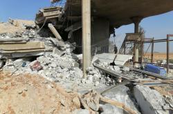 Sídlo šíitské skupiny Katáib Hizballáh zničené americkým náletem